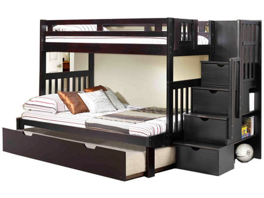 Bunk Beds With Stairs Kids Teen Furniture