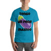 """I have a massive penis"" Short-Sleeve T-Shirt"