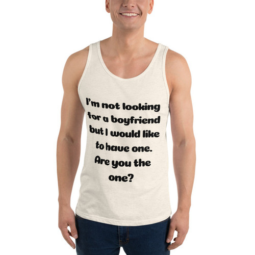 I'm not Looking Tank Top