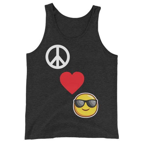 Peace, Love and happiness Tank Top