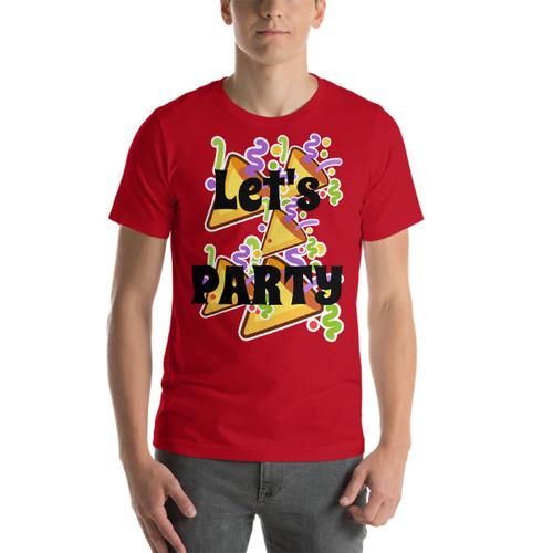 Lets Party Short-Sleeve T-Shirt