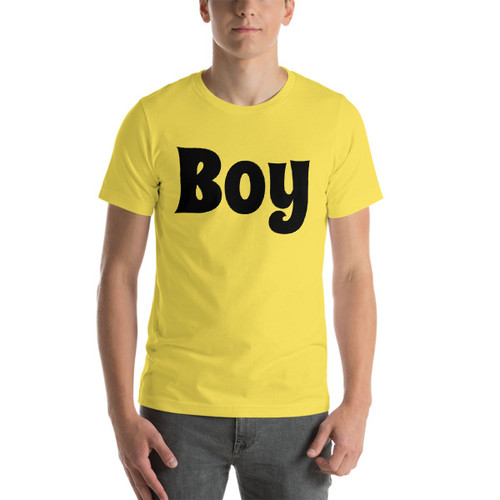 Boy Short-Sleeve T-Shirt