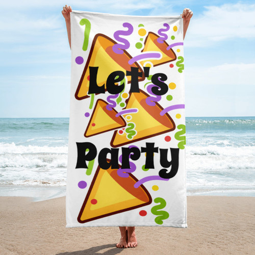 Let's Party Towel