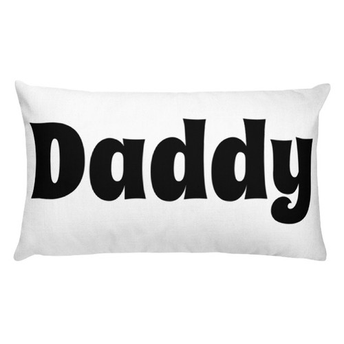 Daddy Rectangular Pillow