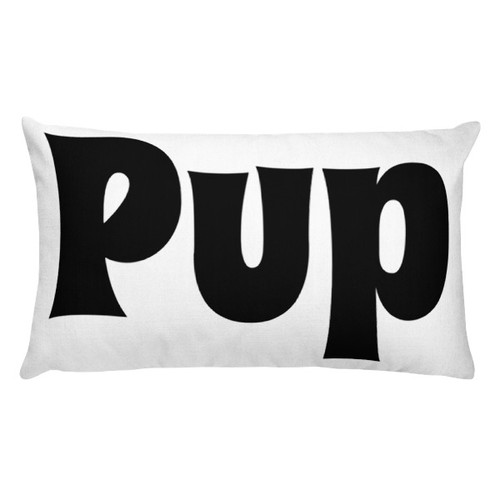 Pup Rectangular Pillow