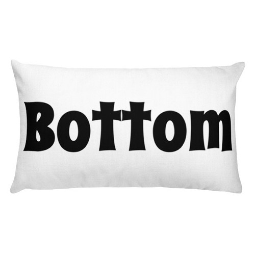 Bottom Rectangular Pillow