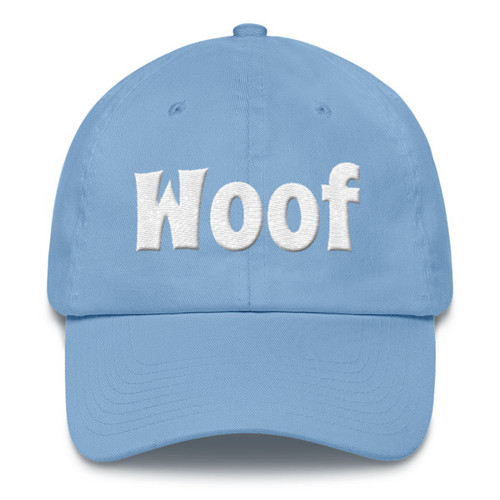 woof Cotton Cap