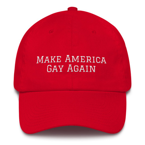 Make America Gay again Cotton Cap