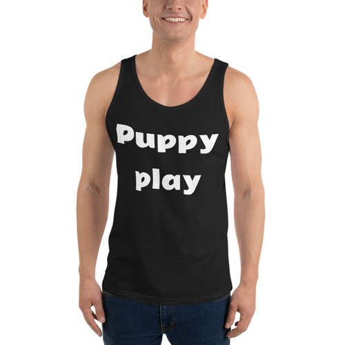 Puppy play Tank Top