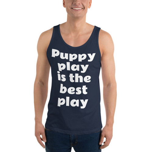 Puppy play is the best play Tank Top