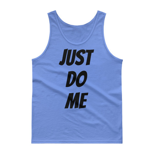 Just do me (black print) Tank top