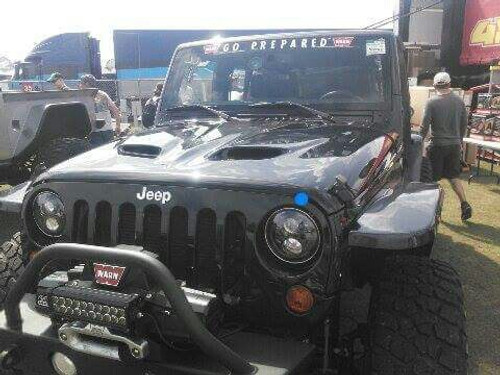 JK Wrangler Rockcrawler HEAT reduction Hood