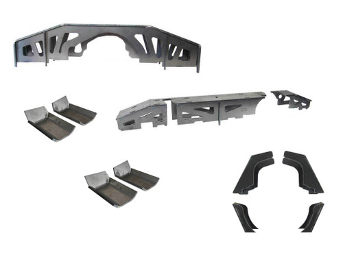 Jeep JK Wrangler STAGE 4 Axle Upgrade Kit - All-in-One
