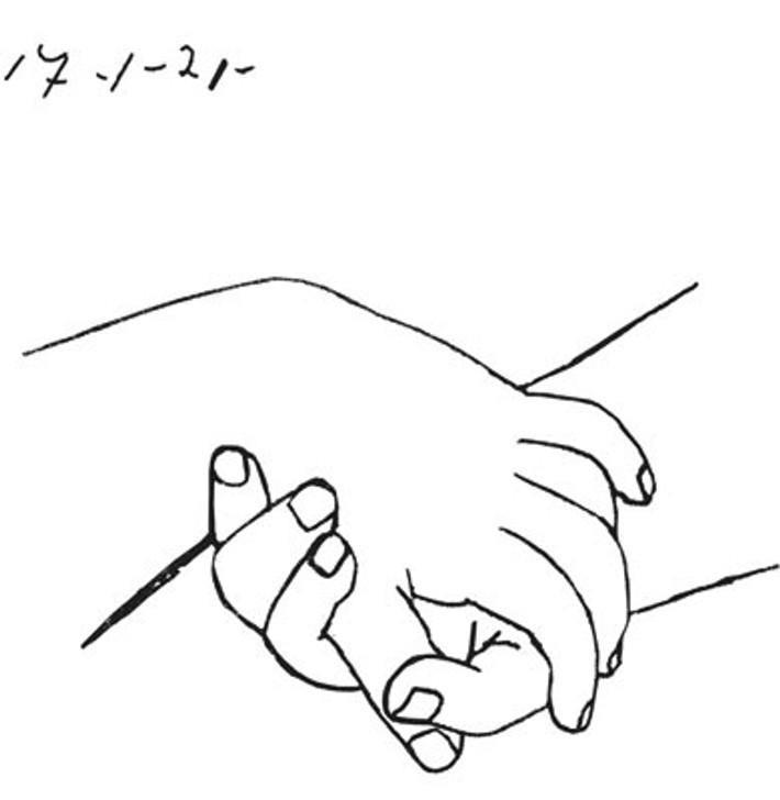 DD049 - Folded Hands