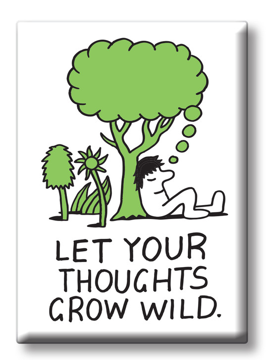 JVMAG03 - THOUGHTS GROW MAGNET
