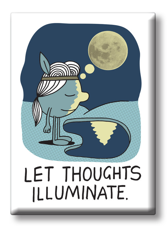 JVMAG08 - THOUGHTS ILLUMINATE MAGNET