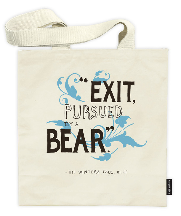 SHT02 - EXIT BEAR TOTE BAG