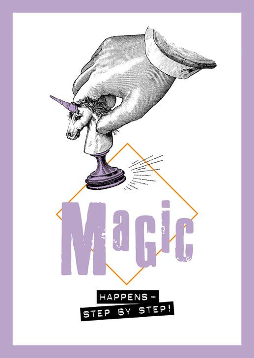 S009 - MAGIC HAPPENS UNICORN
