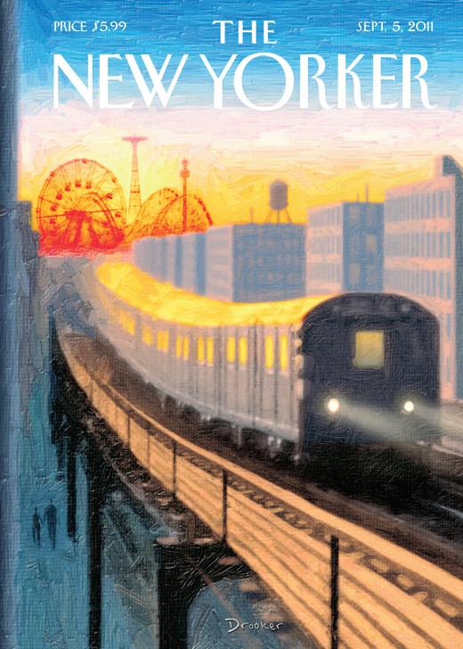 NYV136 - Coney Island Train