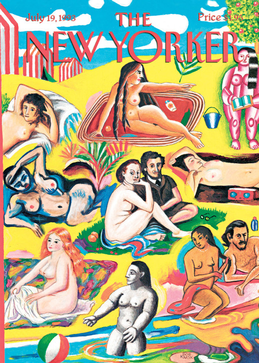 NYV137 - Painted Bathers