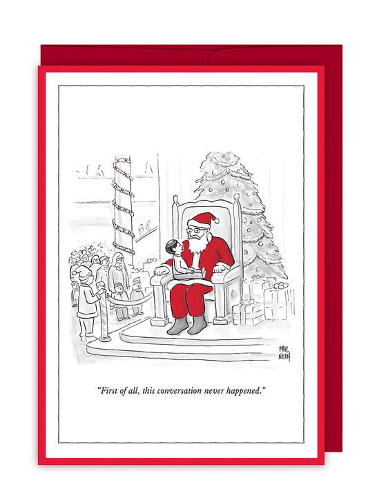 NYX088 - Jewish Boy On Santa's Lap
