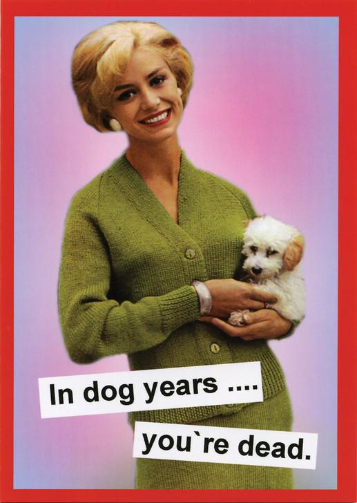 KMK072 - IN DOG YEARS YEARS....