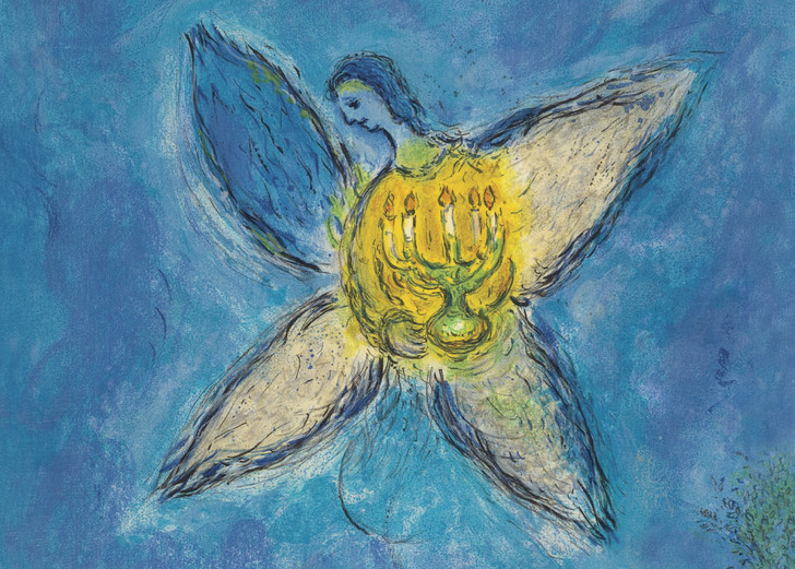 NMX21 - MARC CHAGALL/CHARLES SORLIER, ANGEL IN THE CHANDELIER