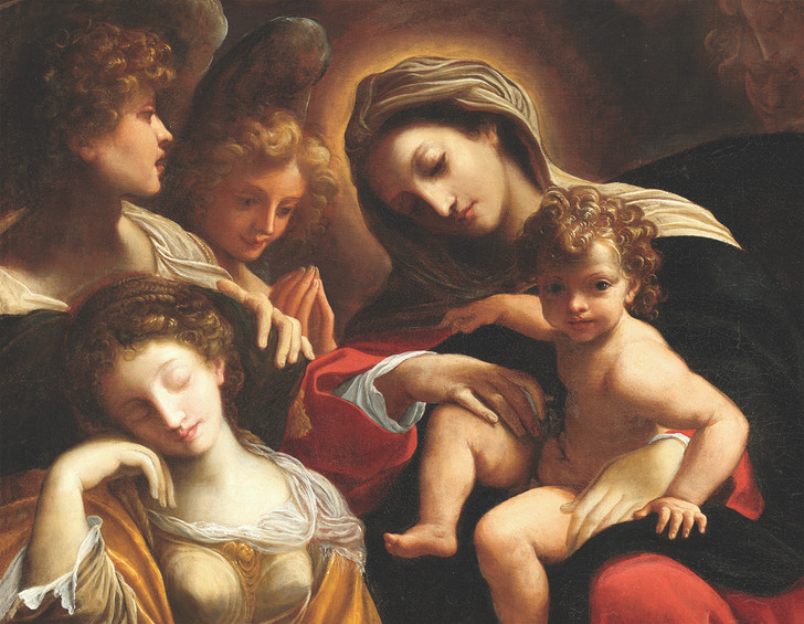NMX33 - CARRACCI, DREAM OF ST. CATHERINE