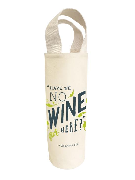 SHWT02 - NO WINE WINE TOTE