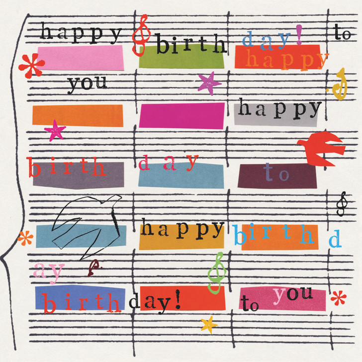 JF1496 - HAPPY BIRTHDAY MUSIC