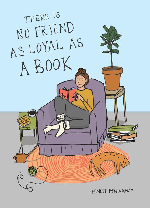 NLSC22 - LOYAL AS A BOOK