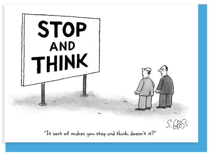 NLCC022 - STOP AND THINK