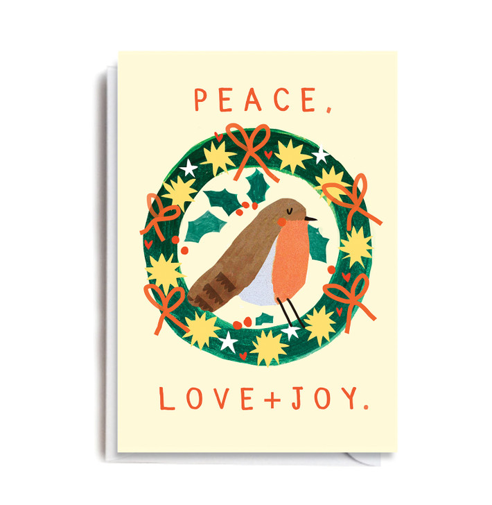 DO129 - Peace, Love + Joy