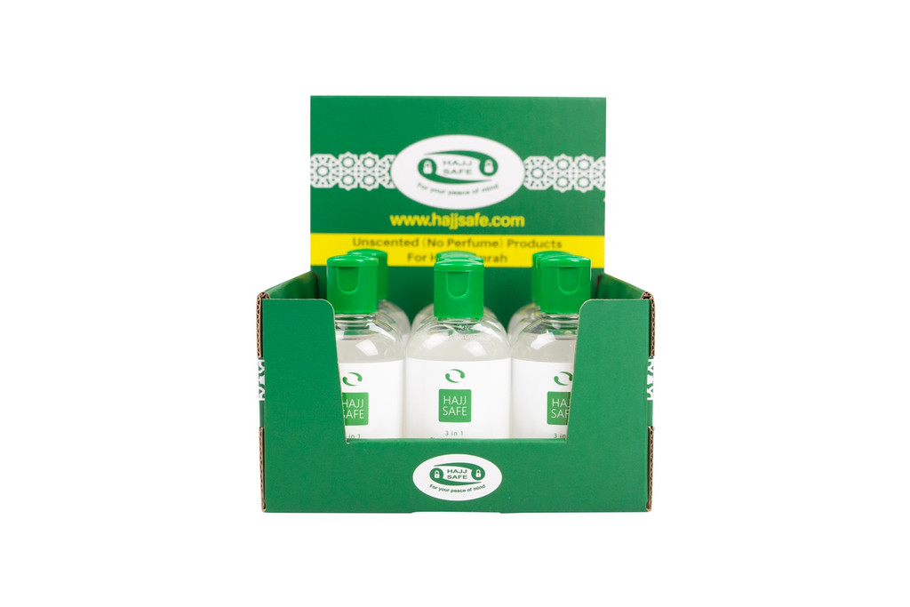 Hajj & Umrah - Unscented Liquid Soap - PACK OF 3