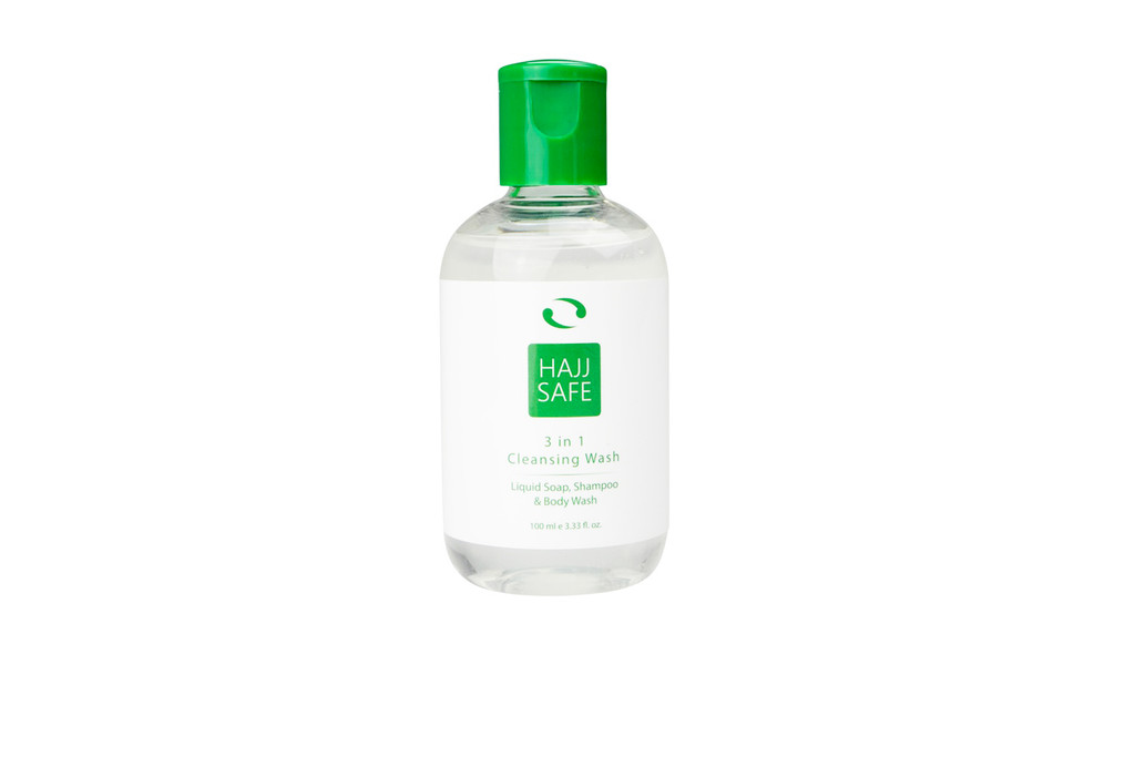 Hajj & Umrah - Unscented Liquid Soap - PACK OF 3
