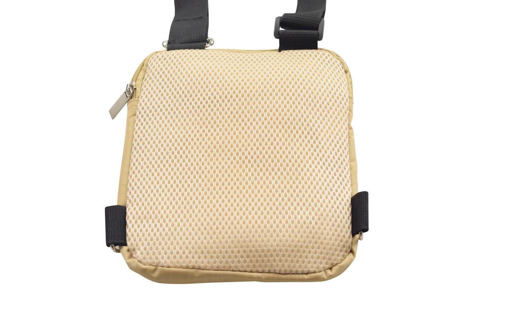 Hajj Safe - Secure Side Bag & Neck Bag - With Breathable Back Mesh for Hot Climates.