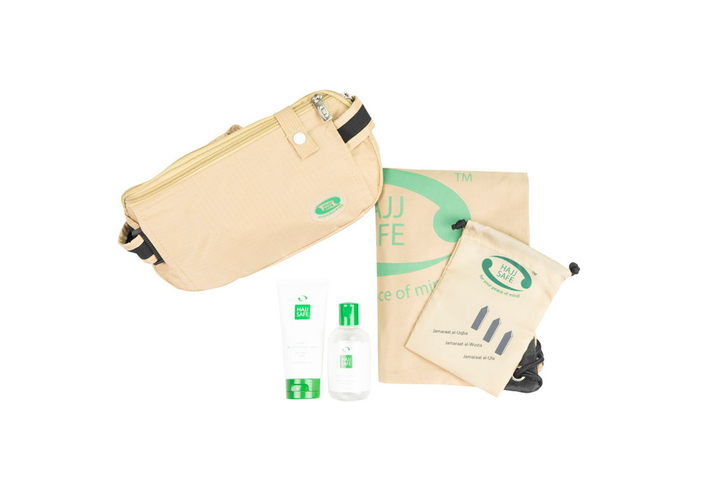 Hajj Safe - Brothers Kit 1 - Cream