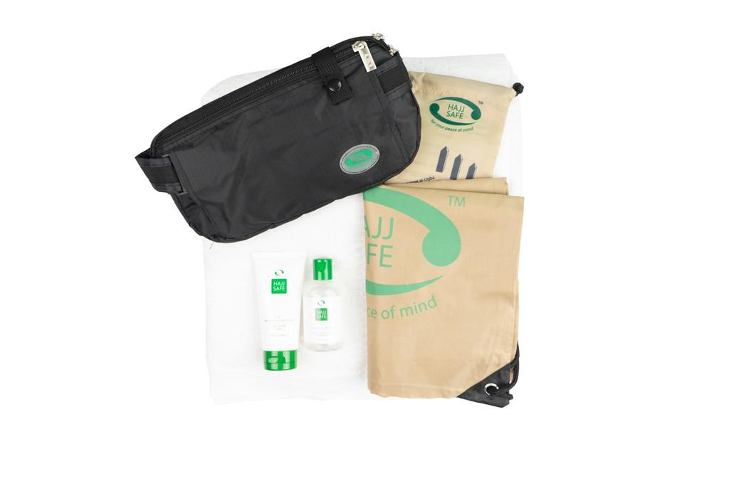 Hajj Safe Brothers Kit 2 - Cream - Black