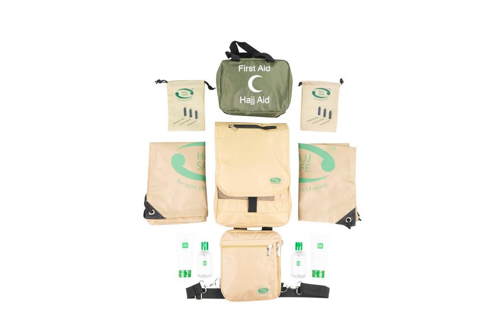 Hajj Safe Ultimate Couples Travellers Kit - Cream