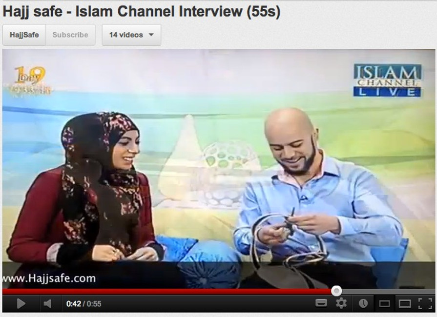Hajj Safe interviewed on the Islam Channel