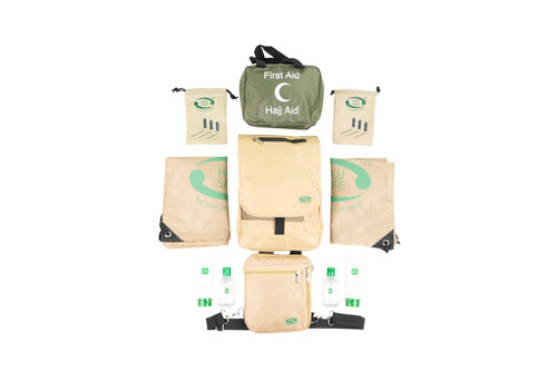 Hajj Safe Ultimate Couples Travellers Kit - Cream