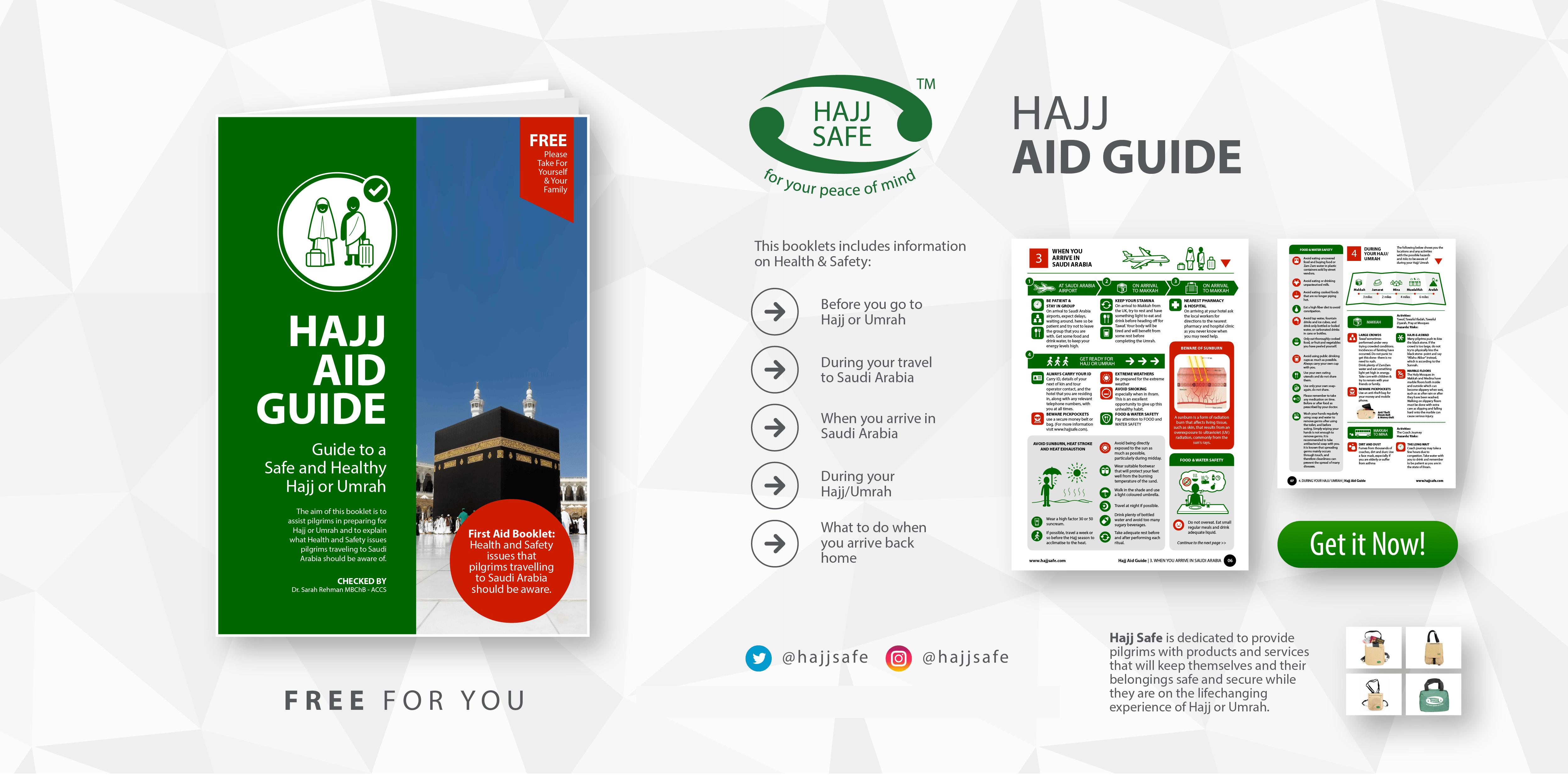 Hajj Safe Homepage / Hajj / Umrah / Anti-Theft / Ihram / Health