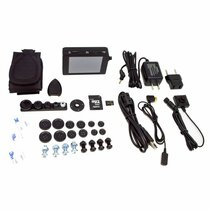 PV-500Neo Pro + BU-18Neo 1080P Button Hidden Camera w/ Touch Screen DVR Kit