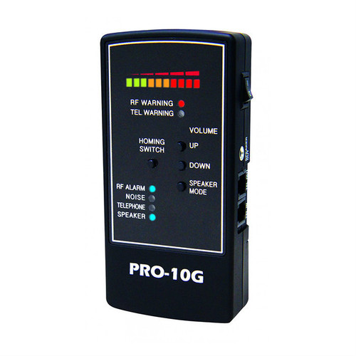 Spy Matrix®  PRO-10G GPS Bug Sweep, Portable Wire Tap, 3G/4G Cell Phone Spying & Wireless Camera Finder