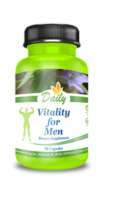 Daily Manufacturing -Vitality for Men | 90 Capsules