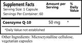 Coenzyme Q-10 50mg