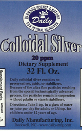 Colloidal Silver | 32 fl oz