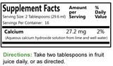 Lime Water   16 fl oz.
