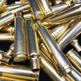 7mm Weatherby Mag Brass Pieces
