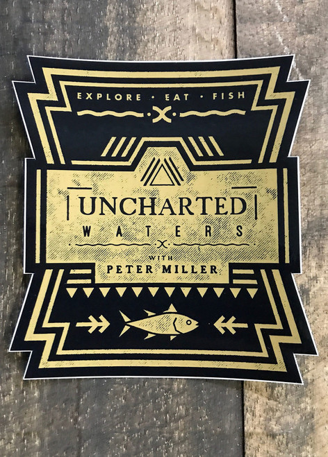 Uncharted Waters All-Weather Sticker
